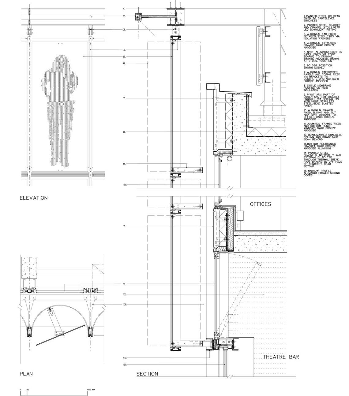 Liverpool Everyman Theatre / Haworth Tompkins Architects Construction Detail