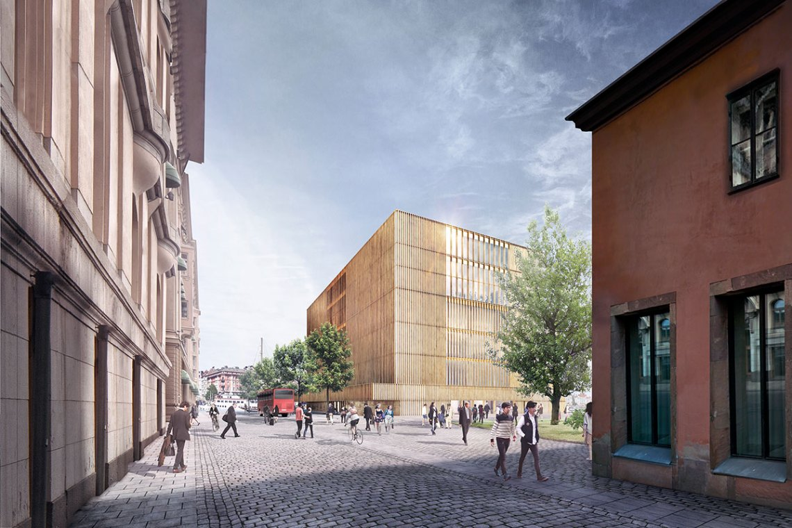 Nobel Center / David Chipperfield Architects