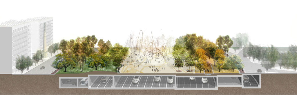 La Sagrera Linear Park / Aldayjover, RCR and West 8