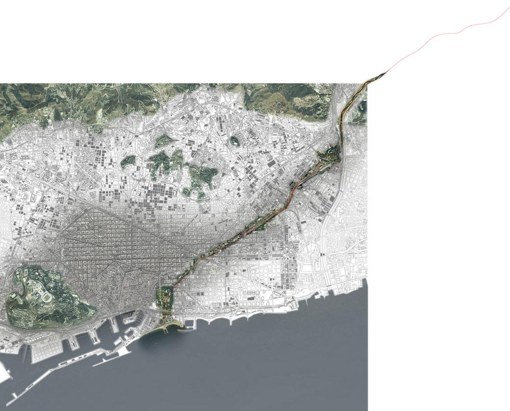 La Sagrera Linear Park / Aldayjover, RCR and West 8