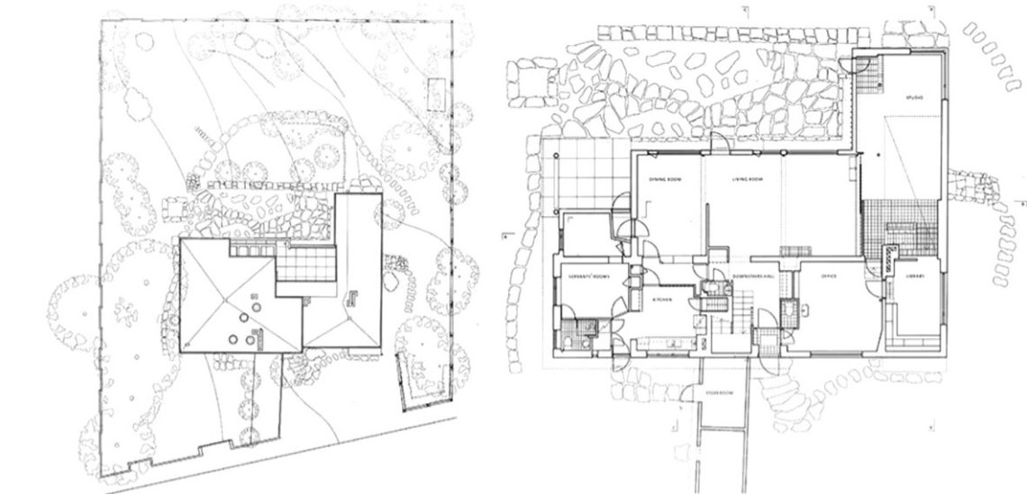 The Aalto House Plans