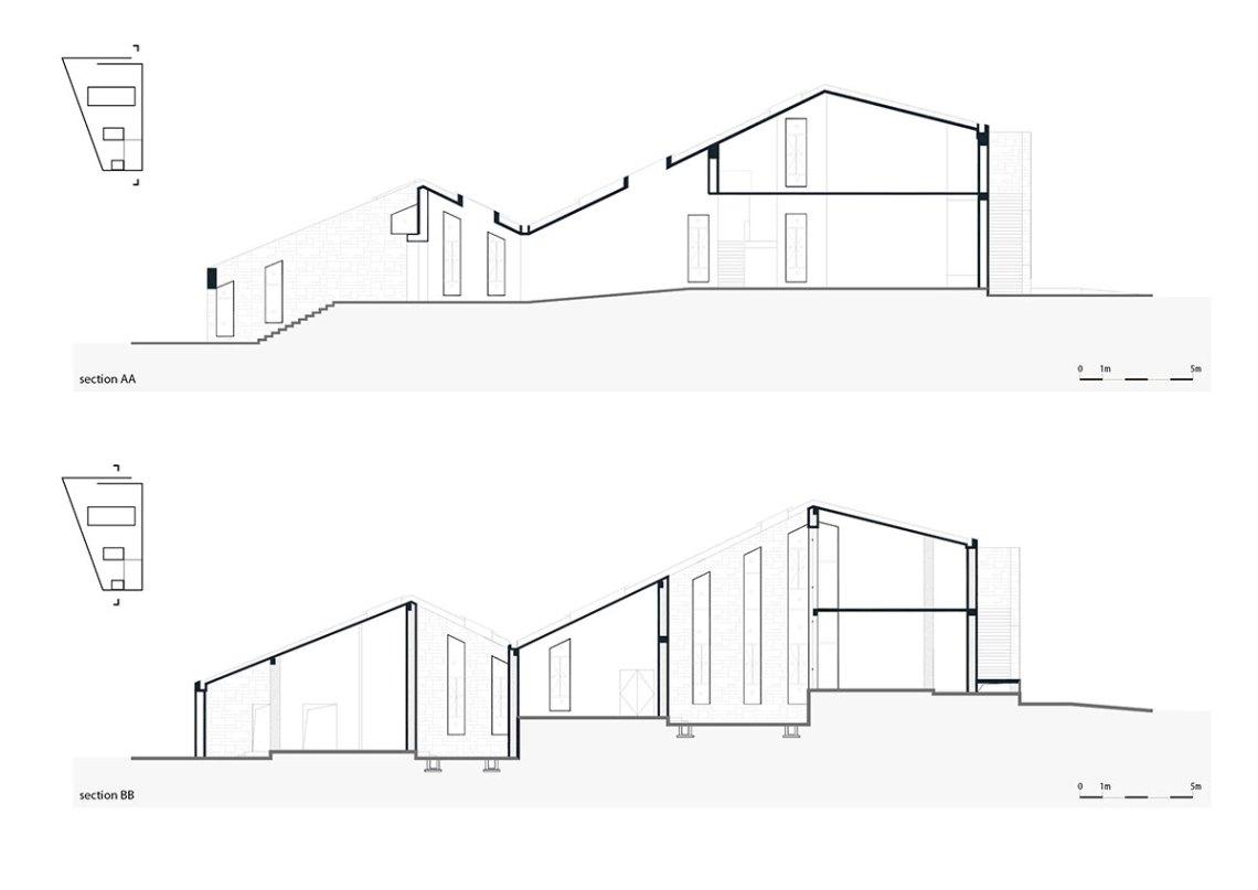 Chetian Cultural Center Section Plan