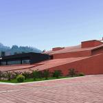 Danxia Exhibition Center / West-line studio