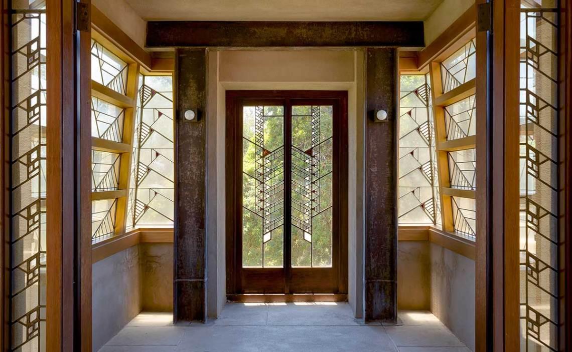 Frank Lloyd Wright Hollyhock House Entrance