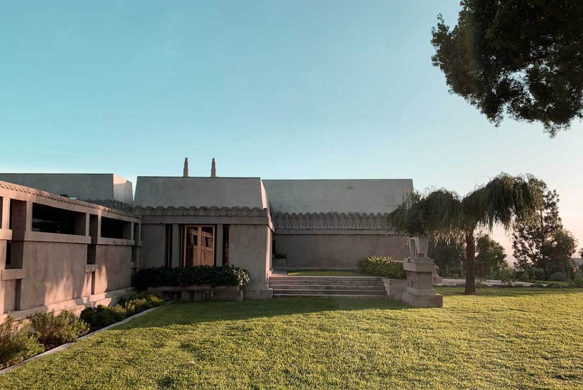 Frank Lloyd Wright Hollyhock House Exterior