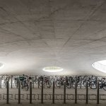 Karen Blixens Square bycicle parking by COBE Architects