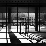 Interior photograph Seagram Building in New york by Mies Van Der Rohe