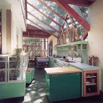 Kitchen of Gehry House Residence in Santa Monica