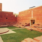 Courtyard stairs of Jawahar kala kendra