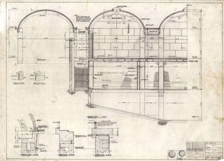 Section Original Drawing