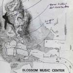 Site Plan Blossom Music Center in Cuyahoga Valley / Peter van Dijk