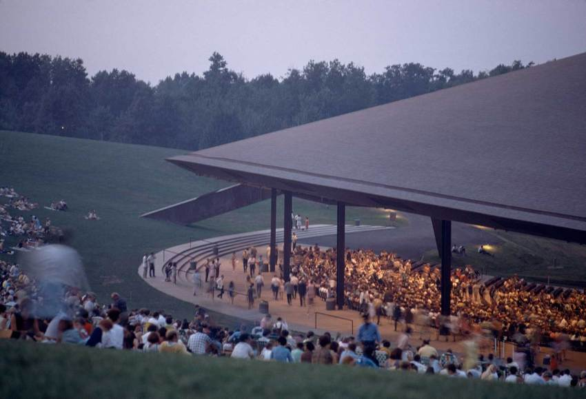 Festival inside the Blossom Music Center