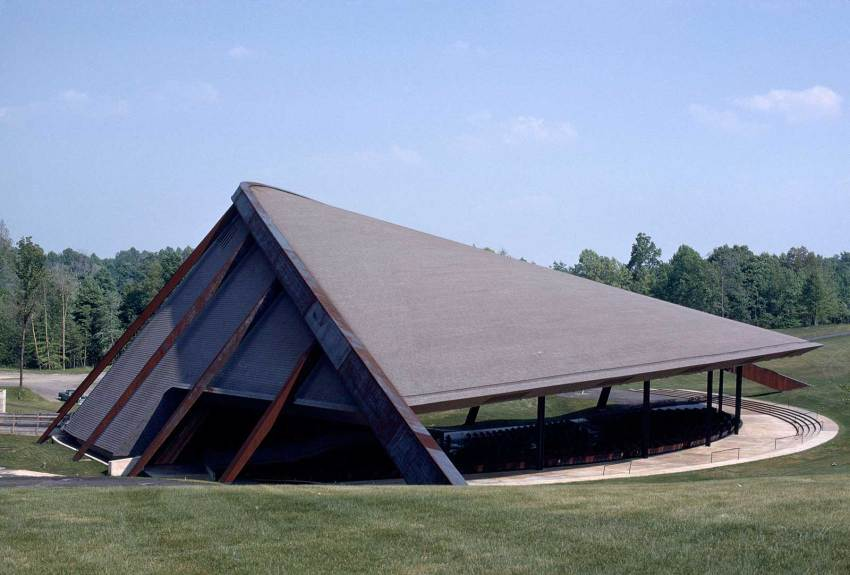 Exterior View of the Blossom Music Center