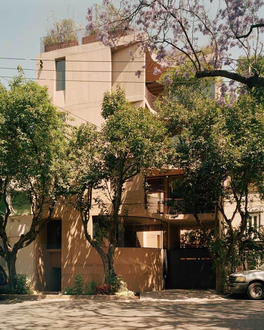Exterior facade LC710 Apartments