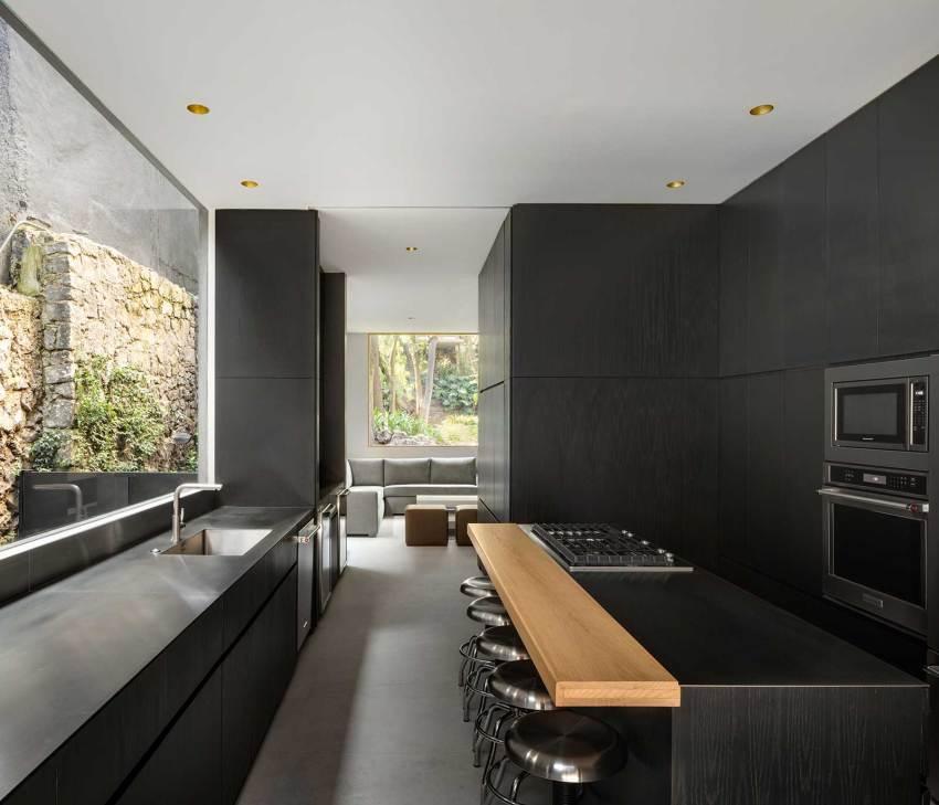 Kitchen Lluvia House in Mexico / PPAA Pérez Palacios Arquitectos Asociados