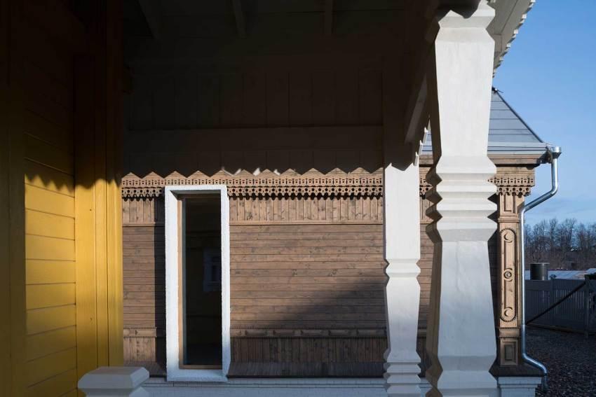 Balcony - Suzdal Estate House / FORM Bureau