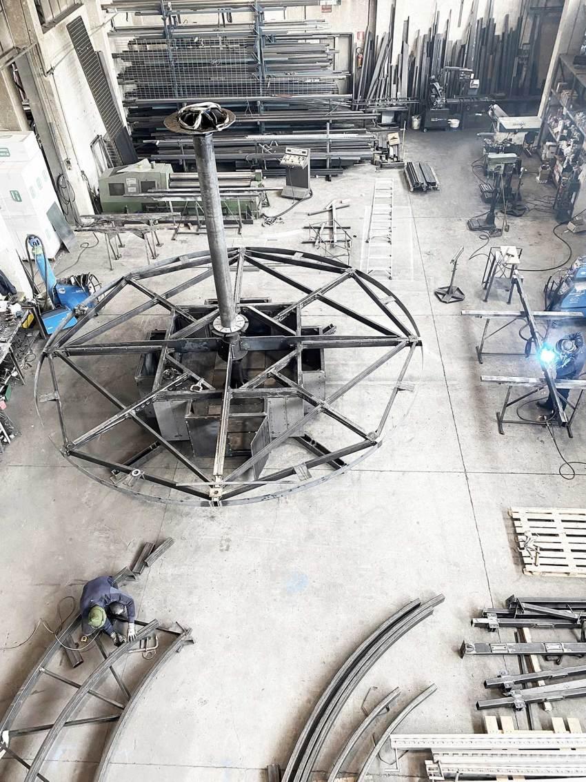 Prototype construction of casa ojala