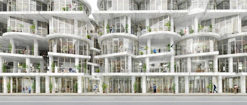 Render - Table Top Apartments: New York Affordable Housing / Kwong Von Glinow