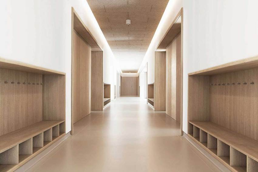 Locker Room - The Social Charity Institution Padre Rubinos Headquarters