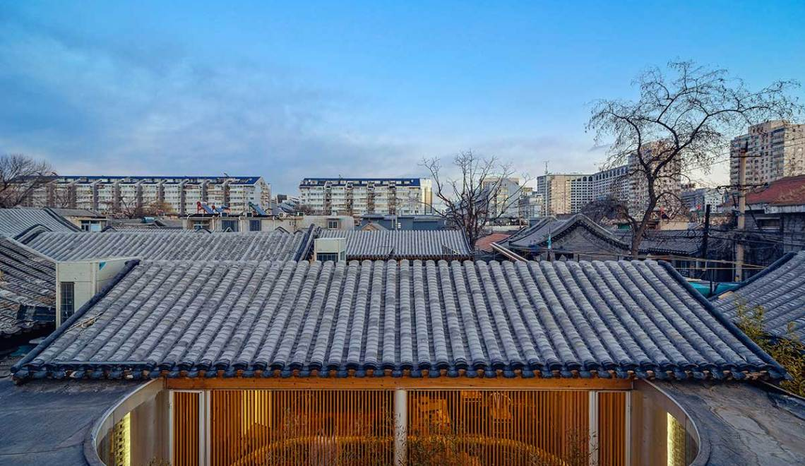 Roof - Tea House in Hutong / Arch Studio