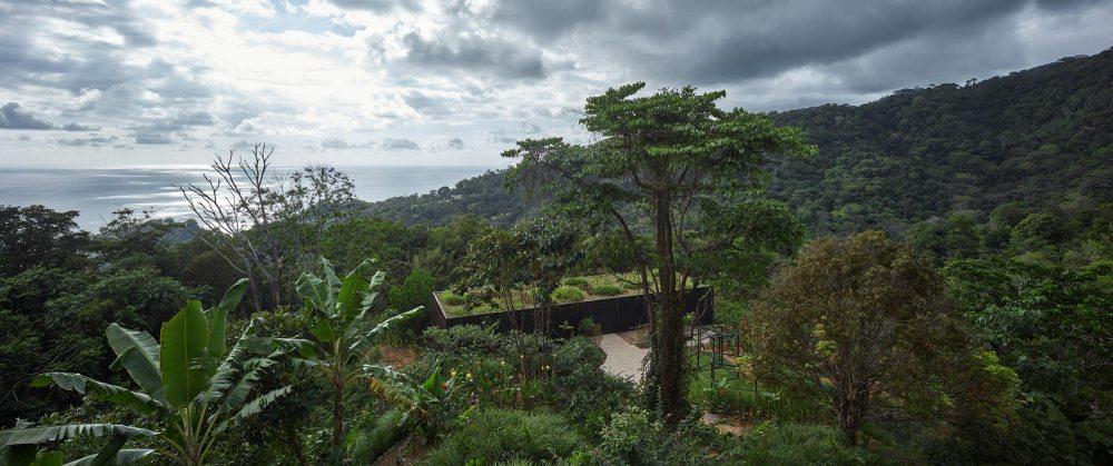 Aerial View - Atelier Villa in Costa Rica / Formafatal