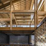 Service hall - Party and Public Service Center of Yuanheguan Village / LUO Studio