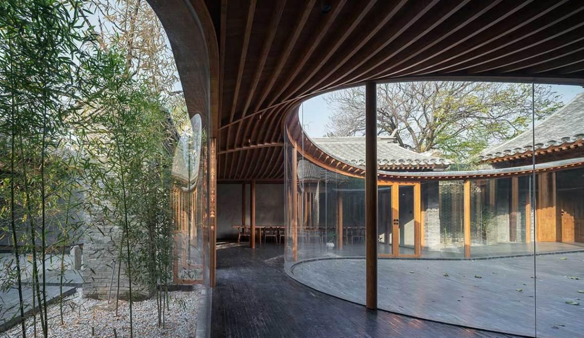 Middle courtyard - Qishe Courtyard in Beijing / ARCHSTUDIO