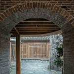 Back courtyard entrance - Qishe Courtyard in Beijing / ARCHSTUDIO