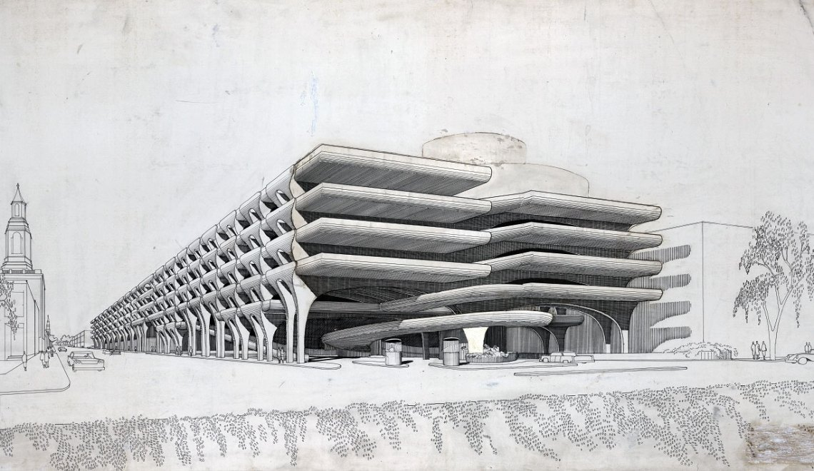 Temple Street Parking Garage / Paul Rudolph