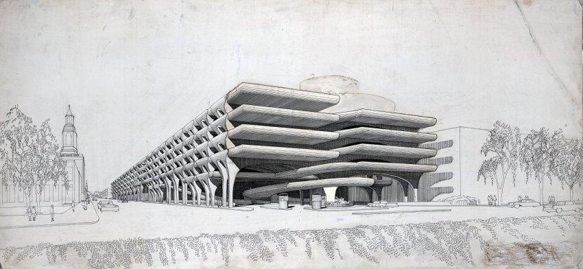 Temple Street Parking Garage / Paul Rudolph