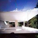 Exterior Interior relationship - Wall-less House in Nagano / Shigeru Ban