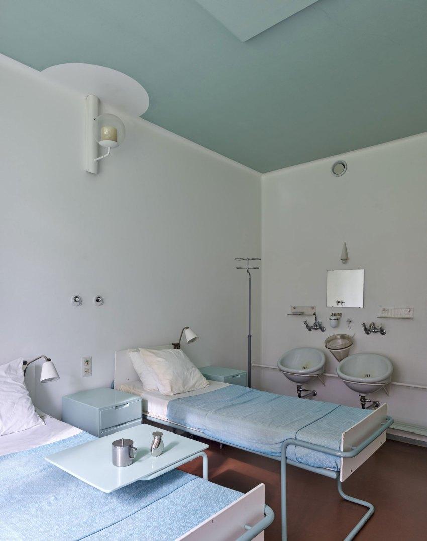 Hospital Room - Paimio Sanatorium / Alvar Aalto