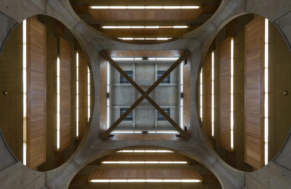 Void - Phillips Exeter Academy Library / Louis Kahn
