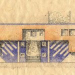 Elevation detail drawing