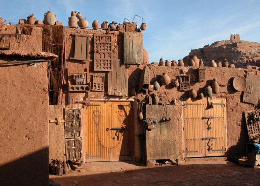 Entrance - Ksar Aït Benhaddou in Morocco / Unesco World Heritage