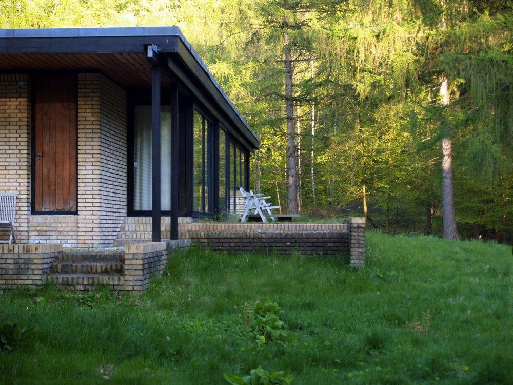 Balcony - Utzon's House in Hellebæk / Jørn Utzon
