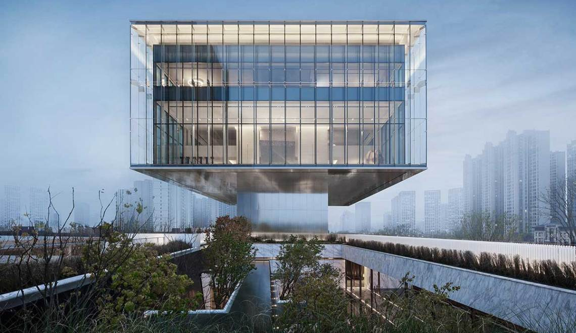 Xi'an Sunac · Grand Milestone Modern Art Center / Cheng Chung Design