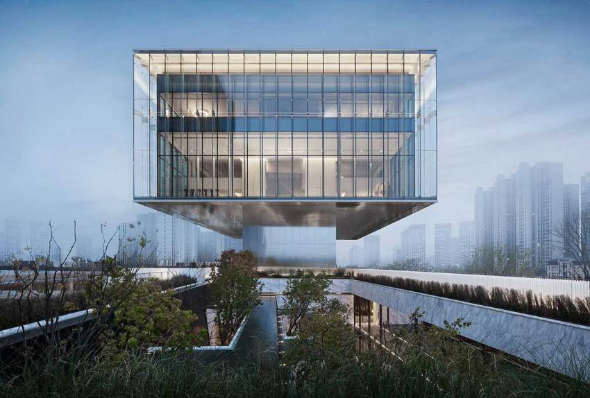 Sunac Grand Milestone Modern Art Center in Xi'an / Cheng Chung Design