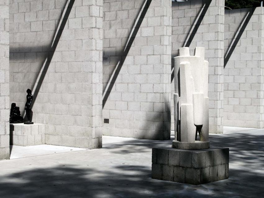 Facade Rhythm - Aldo van Eyck Sculpture Garden Pavilion