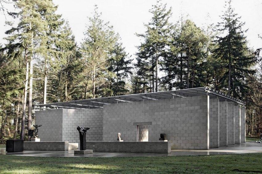 Exterior View - Aldo van Eyck Sculpture Garden Pavilion