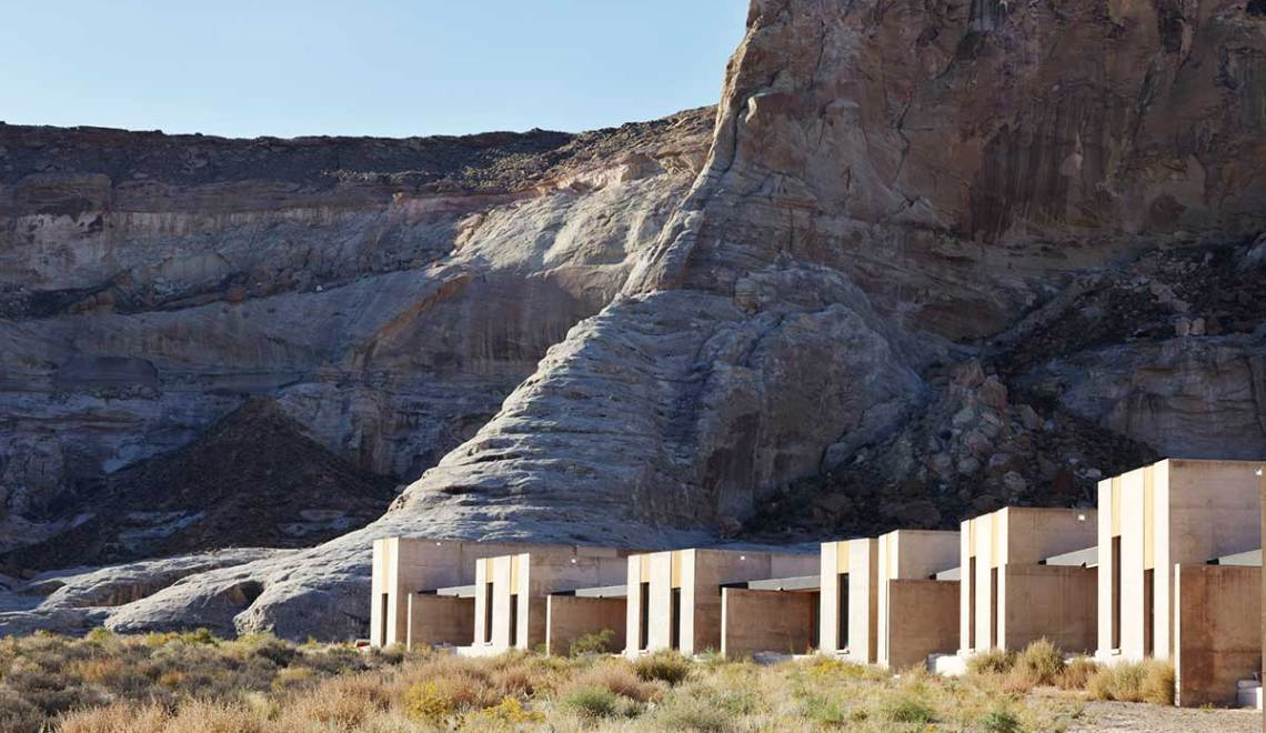 Desert view - Amangiri Resort / Marwan Al-Sayed, Wendell Burnette and Rick Joy