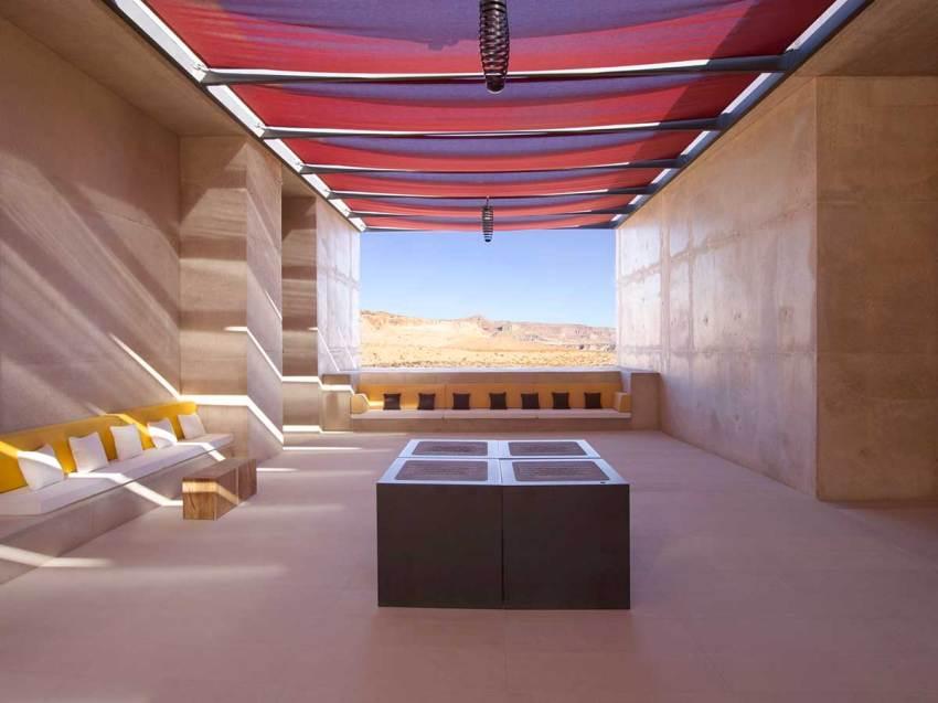 Entrance Lounge - Amangiri Resort / Marwan Al-Sayed, Wendell Burnette and Rick Joy