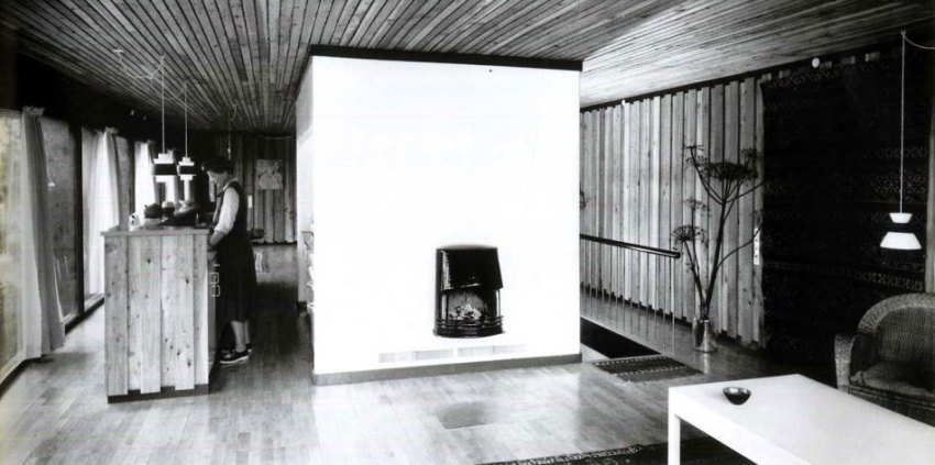 Interior photograph from 1955
