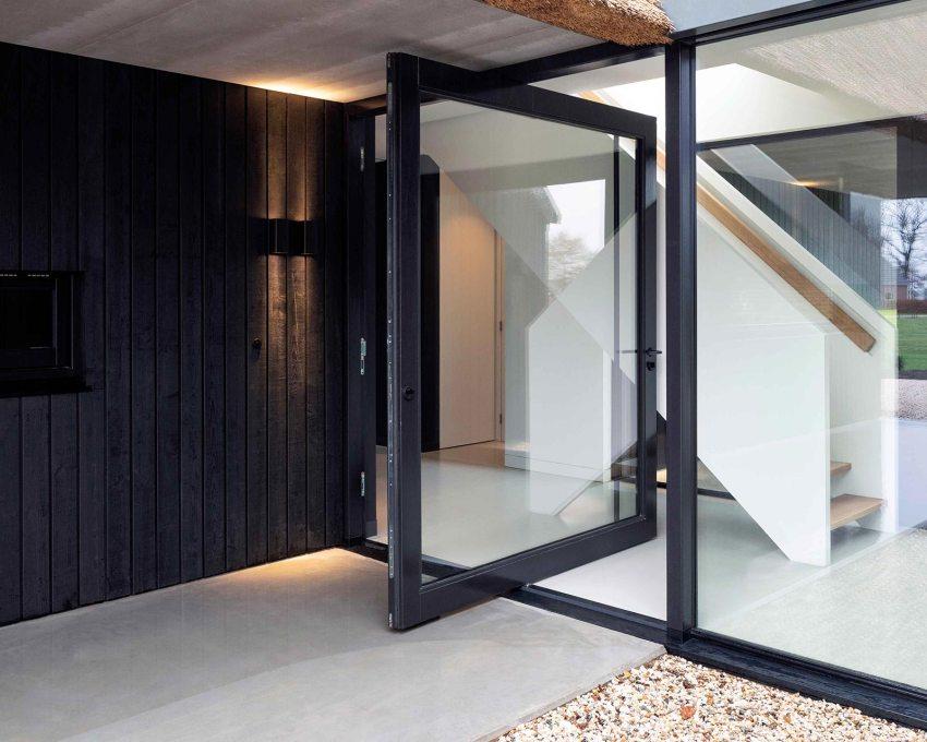 Steel Modern Pivot door
