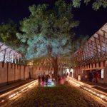 Patio - Jetavan - Spiritual Development Center / Sameep Padora and Associates