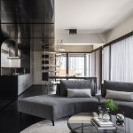 Living Room - Dark Interiors -
