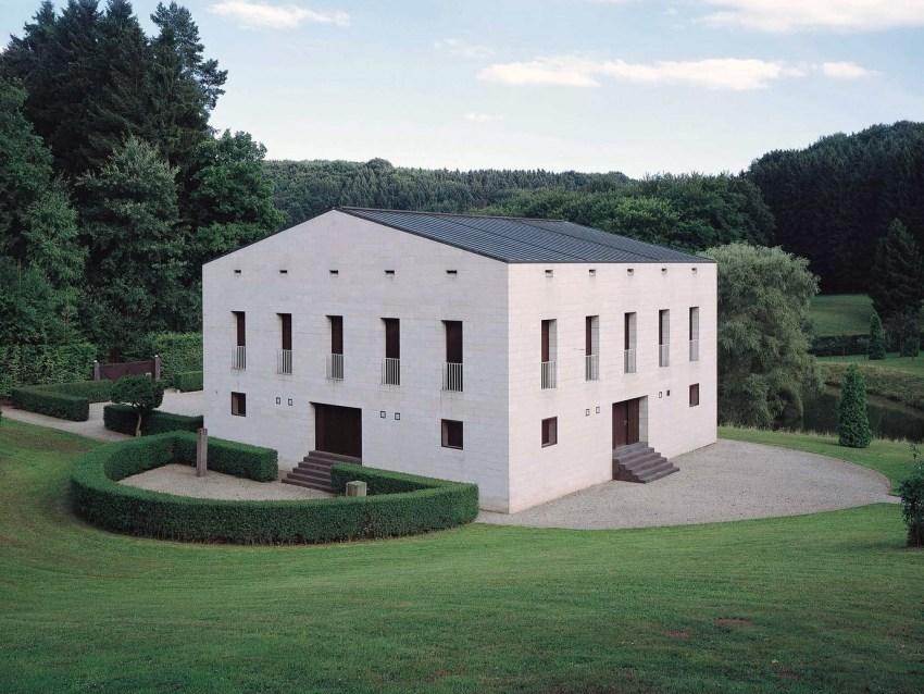 Aerial Exterior View - Ungers House II: Villa Glashütte / Oswald Mathias Ungers