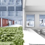 Courtyards - Working Gardens by Dividual Architects