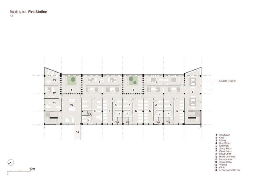 Fire Station Floor Plan