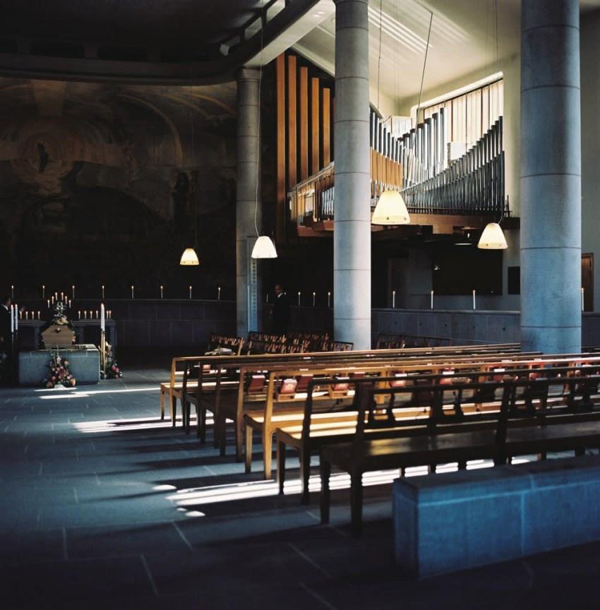Woodland Crematorium Interior, Asplund, 1935-40